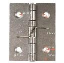 Zawias ze stali nierdzewnej ze sprężyną, 50 x 39 x 1mm - zdjecie 2