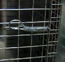 Sprężyna zabezpieczająca drzwi klatek długość 105mm - zdjecie 2