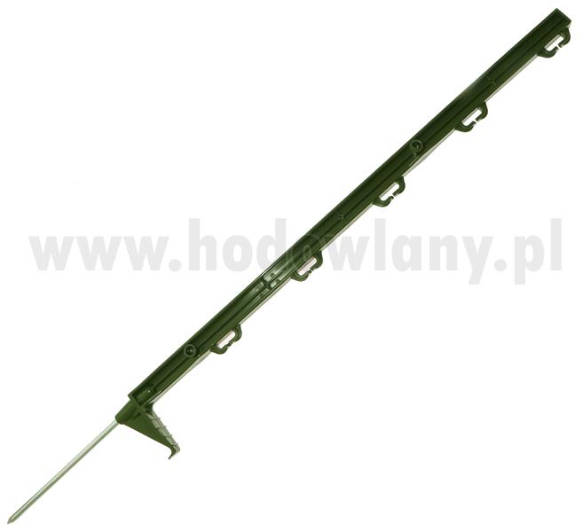 Palik zielony do pastucha 70 cm do niskich ogrodzeń