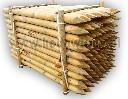 Pal drewniany fi 8 cm do pastuchów na słupki narożne i bramowe h-200 cm - zdjecie 4
