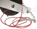 Zwijana brama przepędowa do ogrodzeń elektrycznych z liną 6 mm - zdjecie 3