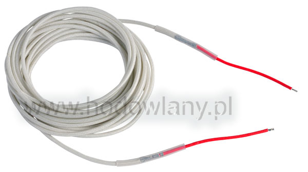 Przewód grzewczy silikonowy 75 W - 5 m długości