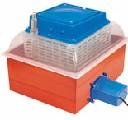 Inkubator do jaj, średni 24-ka automatyczne obracanie jaj