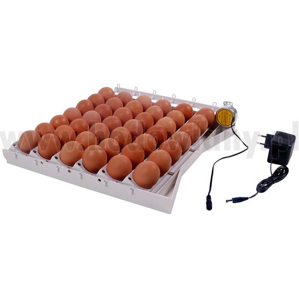 Taca z silnikiem do obracania jaj 42 jaja kurze - zdjecie 1