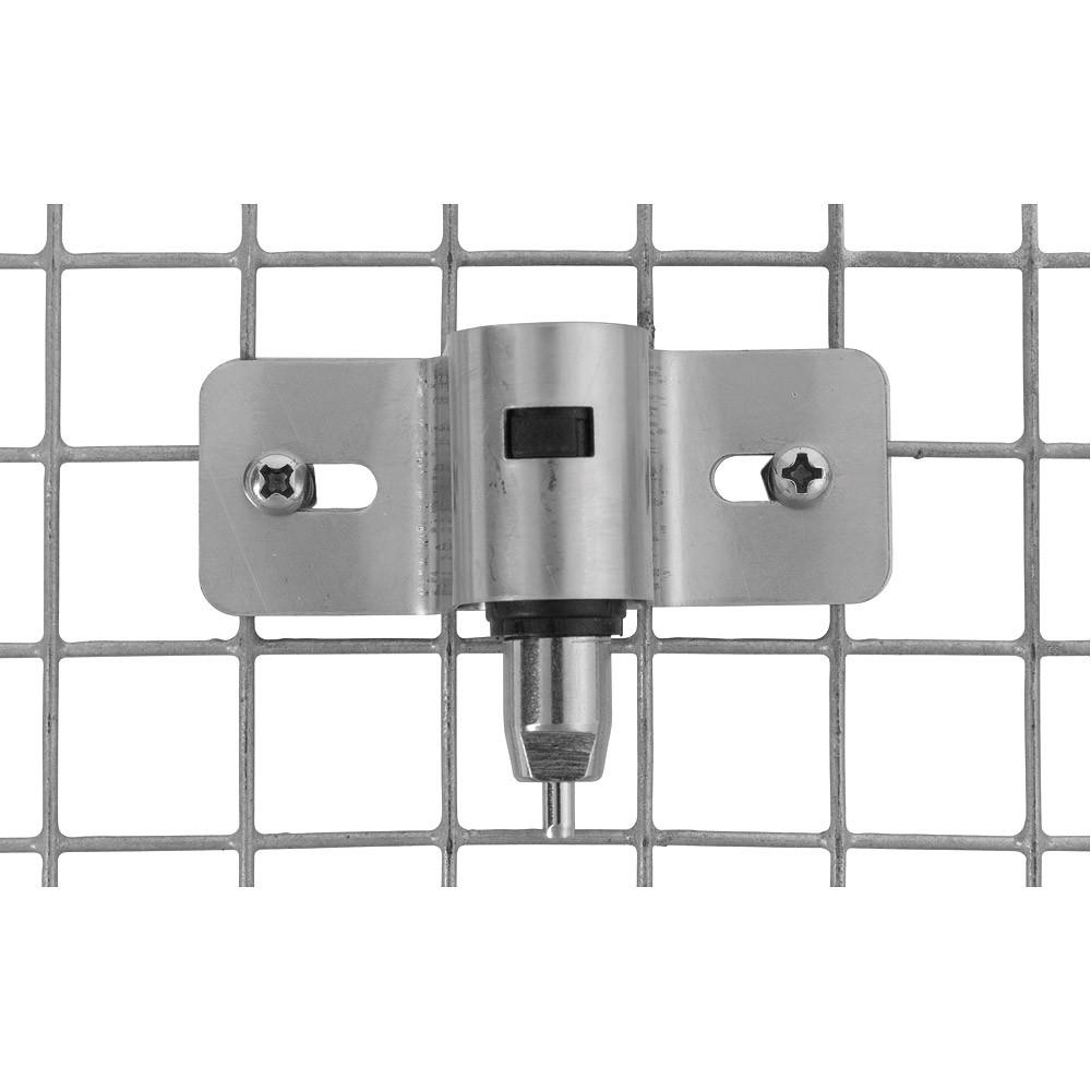 Poidło dla królików i gryzoni z trójnikiem - mocowane na śruby nierdzewne PREMIUM - zdjecie 1