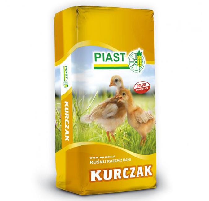 Pasza karma dla piskląt kurcząt pow. 9 tyg. 2G KURCZAK granulat 25 kg