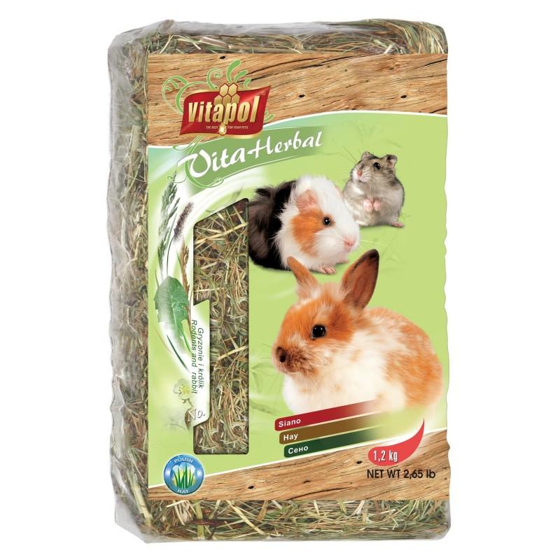 Siano dla królików, świnek morskich do paśnika 1,2 kg