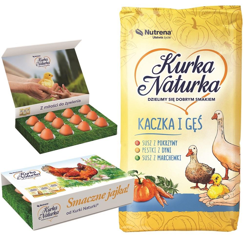 Pasza dla kaczek i gęsi Nutrena Kaczka i Gęś 2 od 4 tyg. granulat 25 kg