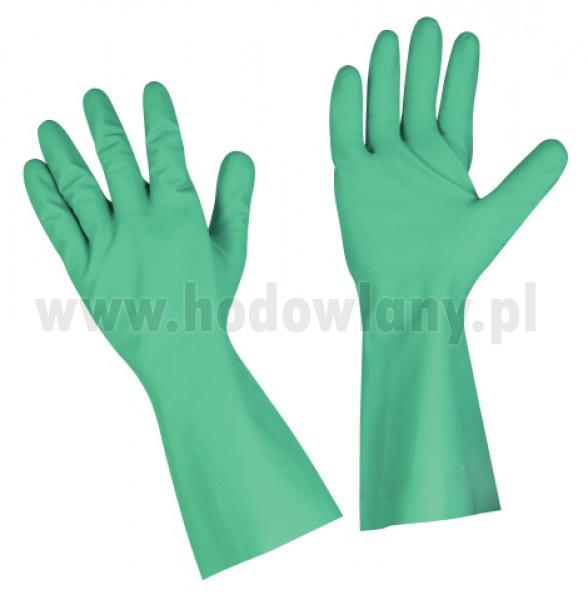 Rękawice z długim mankietem do pracy z chemikaliami - zdjecie 1