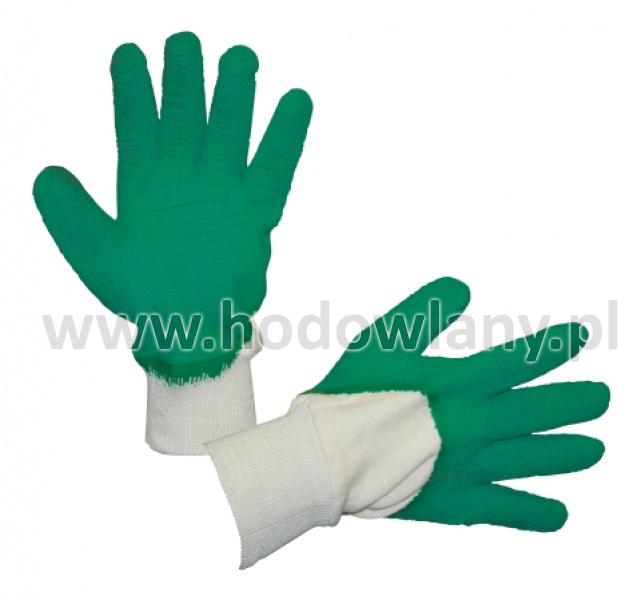 Rękawice robocze powlekane lateksem - zdjecie 1