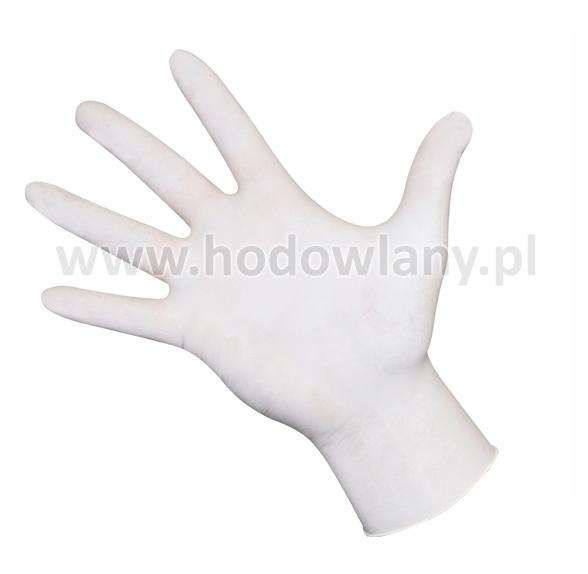 Rękawice lateksowe jednorazowe 100 szt. - zdjecie 1