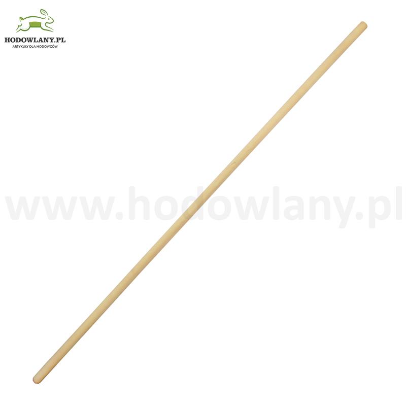 Trzonek drewniany fi 24 mm do szczotki lub ściągaczki  do wody 130 cm