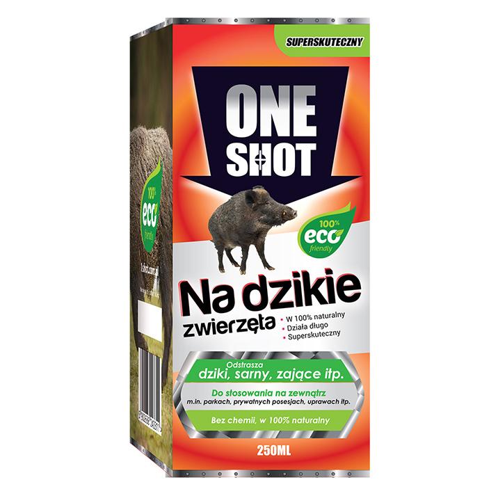 Naturalny odstraszacz zapachowy dzikiej zwierzyny ONE SHOT 250 ML