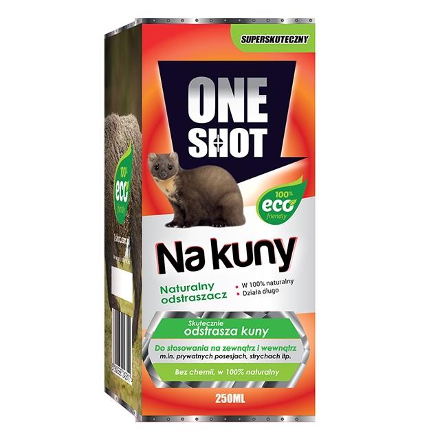 Odstraszacz na kuny naturalny ONE SHOT 250 ml