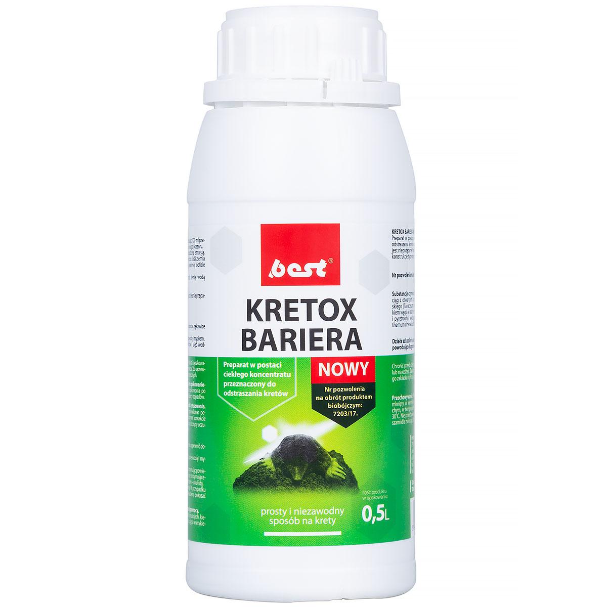 KRETOX 750 ml oprysk na trawnik odstraszający krety