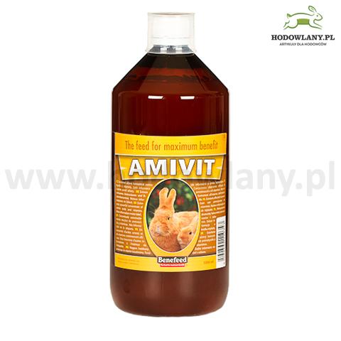 AMIVIT 1000 ml witaminy i aminokwasy dla królików