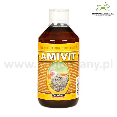 AMIVIT 500 ml witaminy i aminokwasy dla drobiu