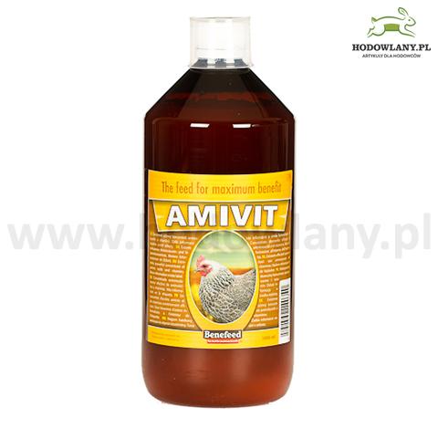 AMIVIT 1000 ml witaminy i aminokwasy dla drobiu