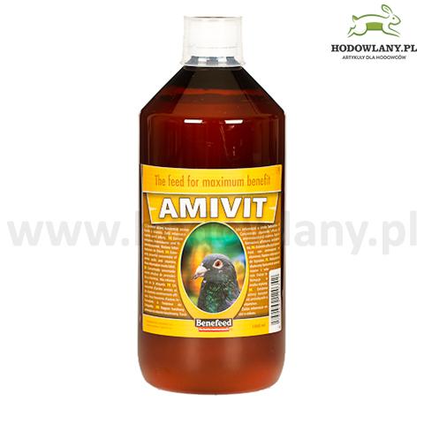 AMIVIT 1000 ml witaminy i aminokwasy dla gołębi