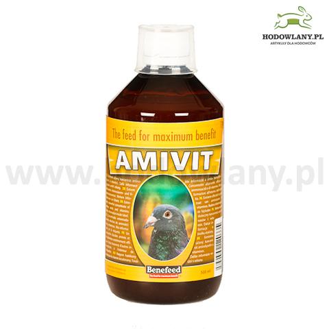 AMIVIT 500 ml witaminy i aminokwasy dla gołębi