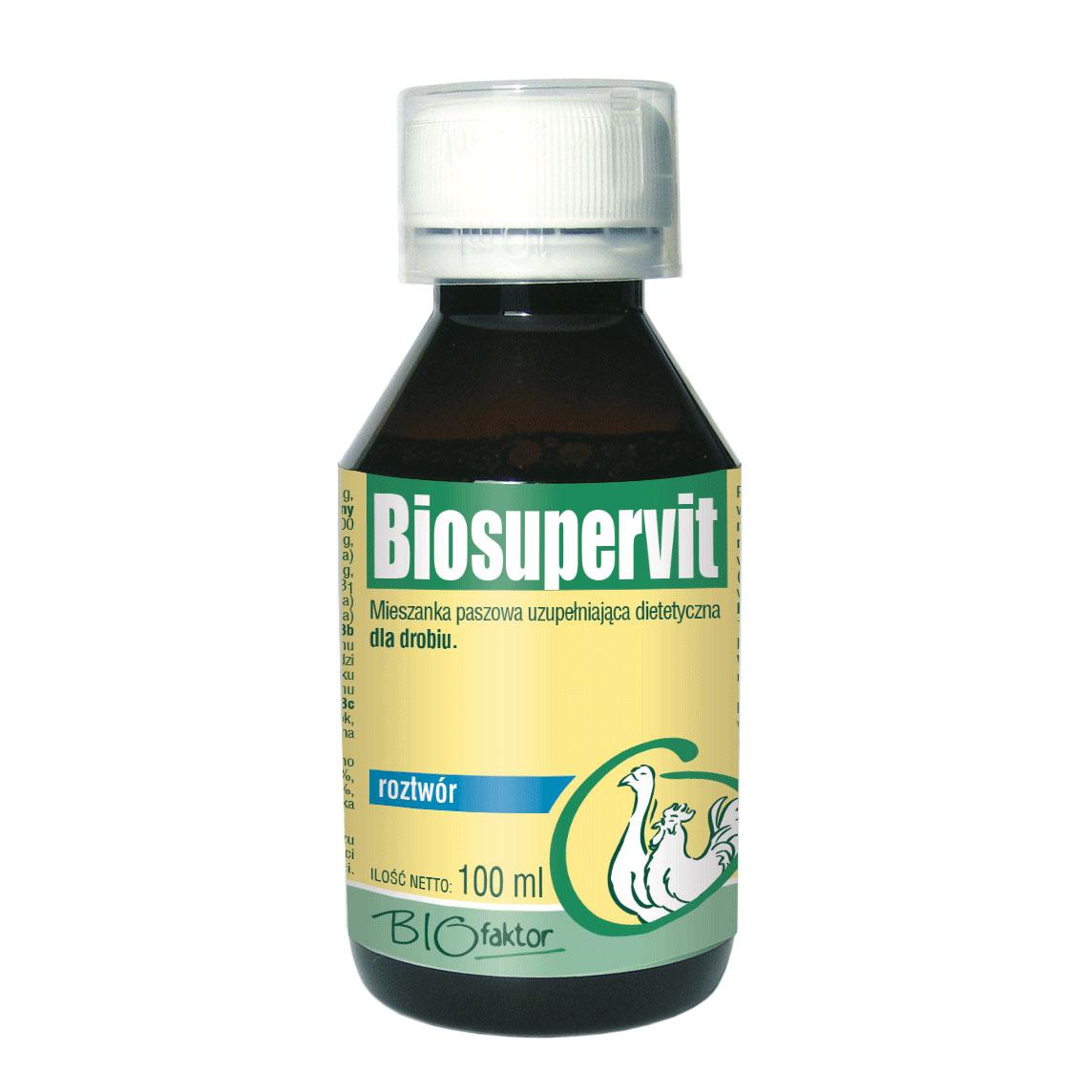 BIOSUPERVIT 100 ml witaminy i aminokwasy dla drobiu