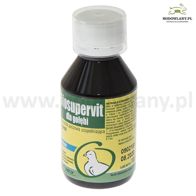 BIOSUPERVIT 100 ml witaminy i aminokwasy dla gołębi