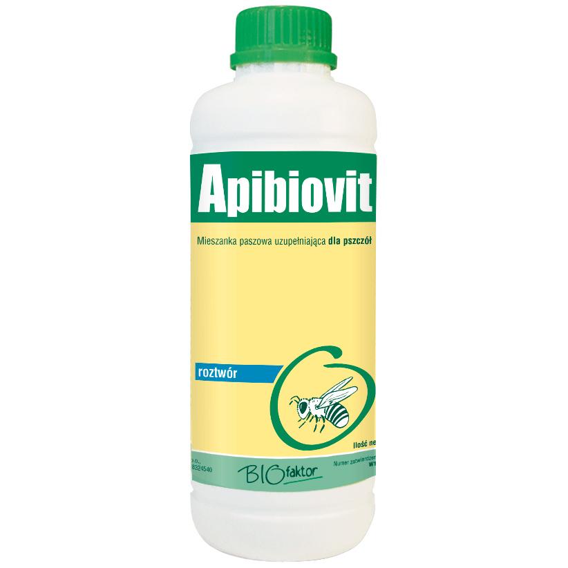 APIBIOWIT 1000 ml odżywka witaminy i aminokwasy dla pszczół