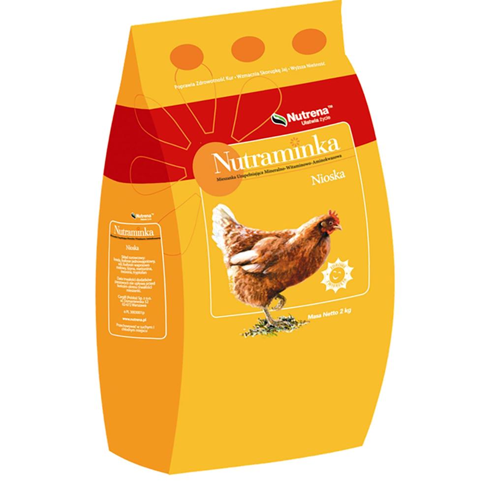 Witaminy dla niosek do paszy Nutraminka 2 kg