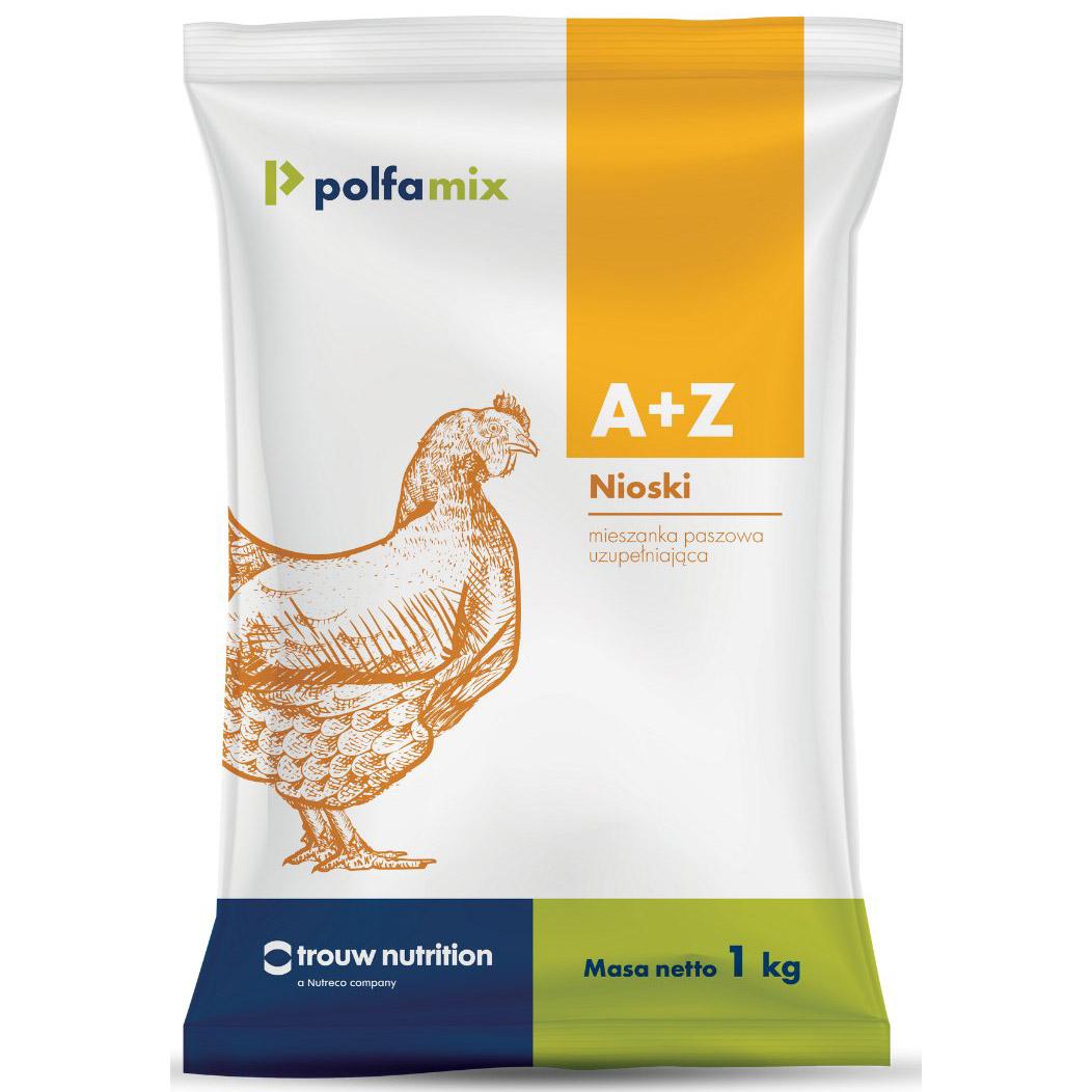 Witaminy dla niosek do wody POLFAMIX A+Z 1 kg