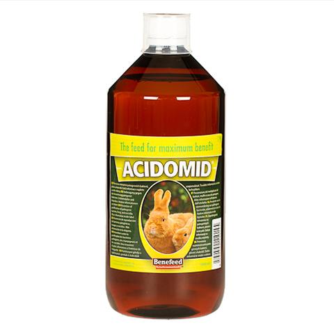 ACIDOMID 1000 ml zakwaszacz przeciw kokcydiozie i pleśni do wody dla królików