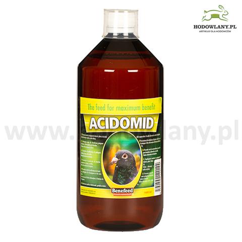 ACIDOMID 1000 ml zakwaszacz przeciw kokcydiozie i pleśni do wody dla gołębi