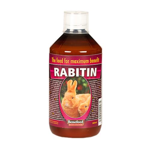 RABITIN 500 ml do poprawy kondycji fizycznej, reprodukcji i odchowania królicząt