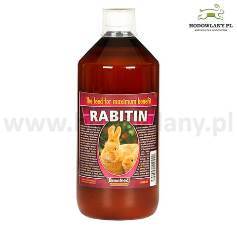 RABITIN 1000 ml do poprawy kondycji fizycznej, reprodukcji i odchowania królicząt