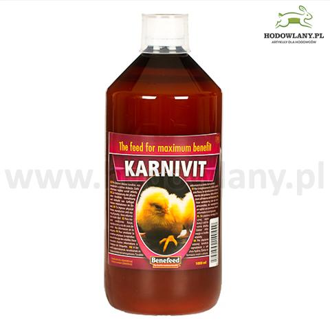 KARNIVIT 1000 ml poprawa kondycji, reprodukcji i odchowu piskląt dla drobiu
