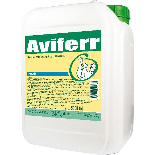 AVIFERR 5000 ml na większy apetyt, przyrosty i odporność