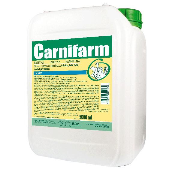 CARNIFARM 5000 ml na przyrosty masy i poprawę kondycji
