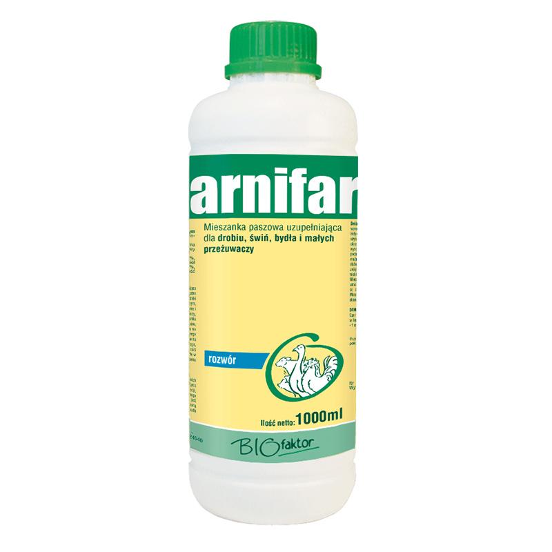 CARNIFARM 1000 ml na przyrosty masy i poprawę kondycji