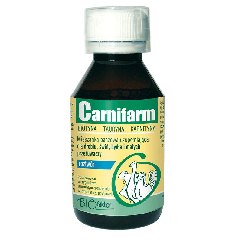 CARNIFARM 100 ml na przyrosty masy i poprawę kondycji
