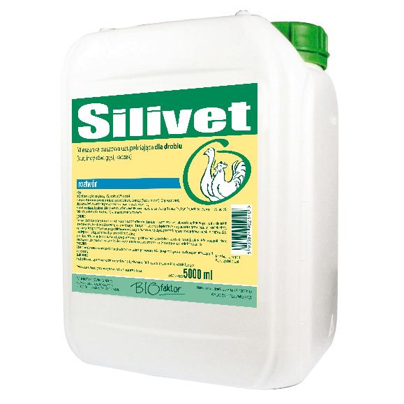 SILIVET 5000 ml regeneracja wątroby po leczeniu i zatruciach dla drobiu
