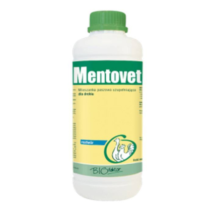 MENTOVET 1000 ml wspomaganie dróg oddechowych dla drobiu