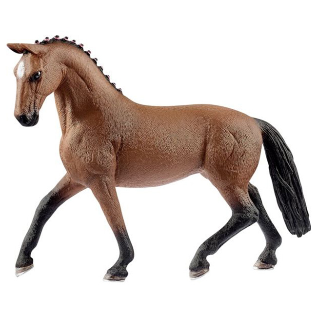 Koń hanowerski klacz figurka zabawka ręcznie malowana