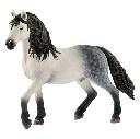 Koń ogier andaluzyjski figurka zabawka ręcznie malowana