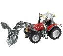Zabawka model do składania traktor Massey Ferguson