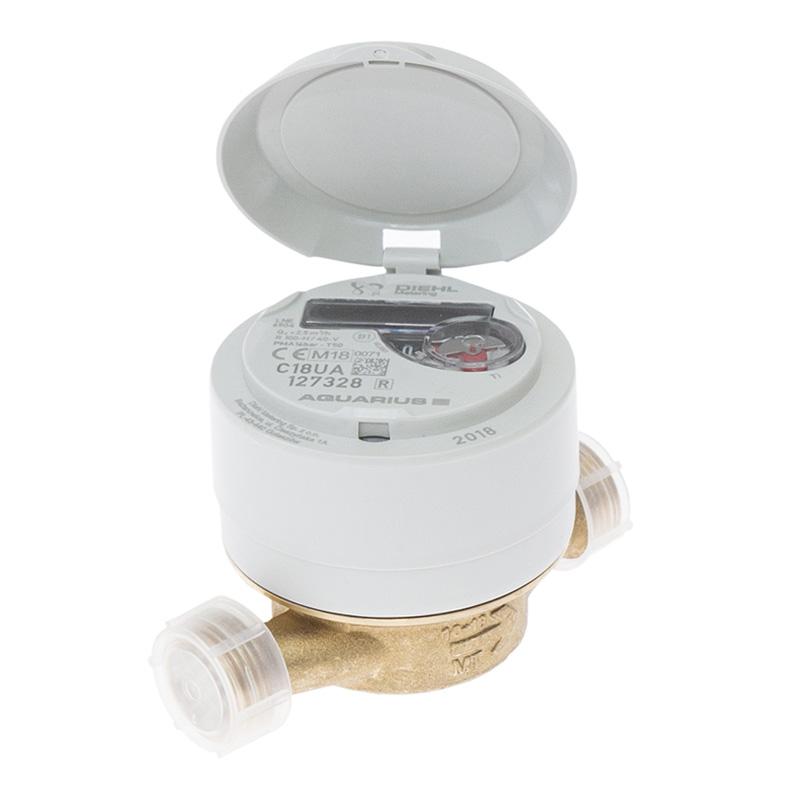 Wodomierz licznik wody Diehl Aquarius 15/110 2,5 R100/40 LGP Ti - zdjecie 1