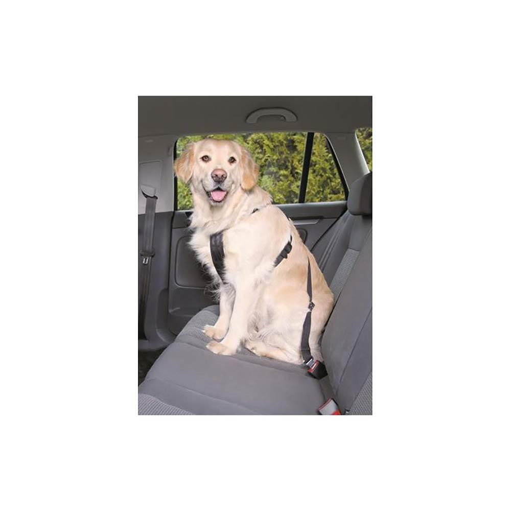 Szelki pasy bezpieczeństwa do auta dla psa M: 50-70 cm - zdjecie 1
