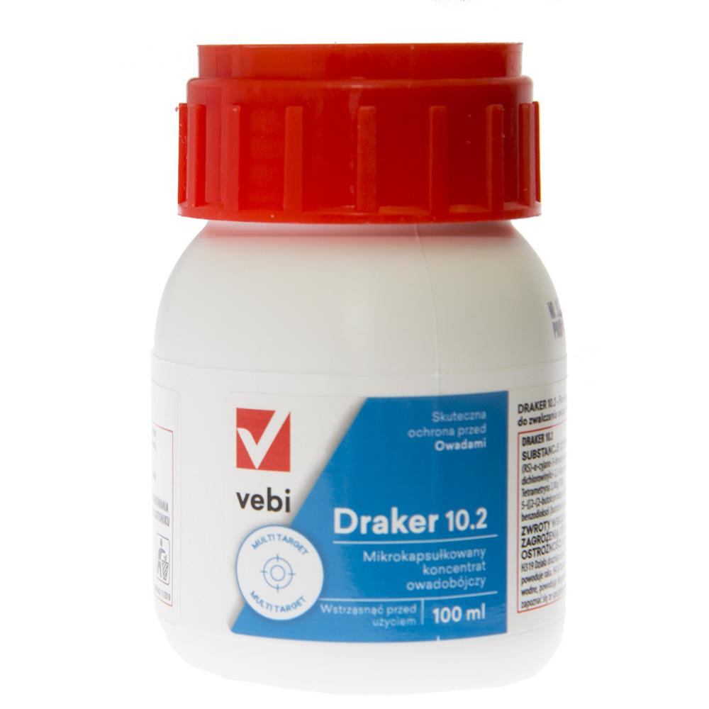 DRAKER 10.2 100 ml preparat na muchy, mrówki, kleszcze, pluskwy