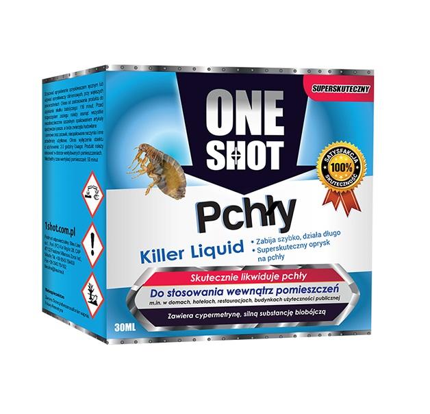 One shot 30 ml na pchły w koncentracie skuteczny