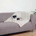 Kocyk dla kota, psa 100x70 cm beżowy