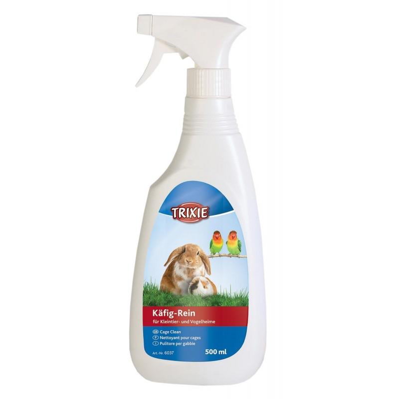 Płyn do czyszczenia i dezynfekowania kuwet i klatek 500 ml