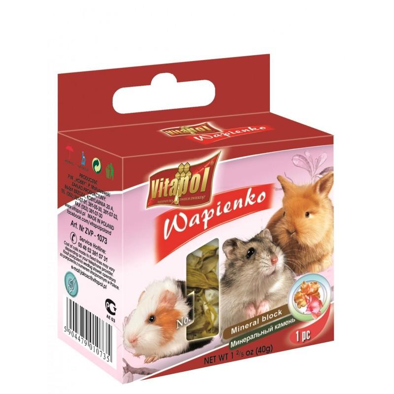 Wapienko kwiatowe dla królików, chomików i gryzoni